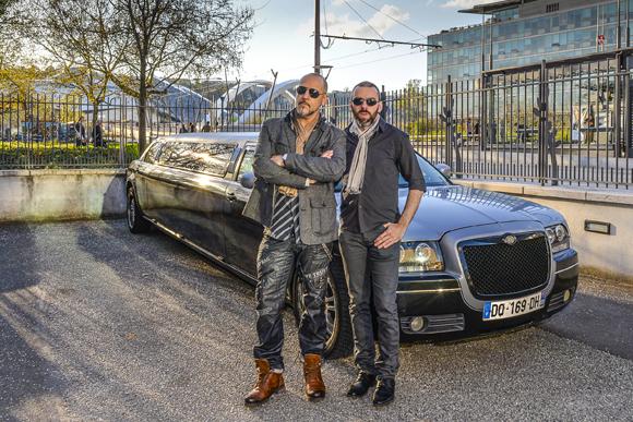 1. Marc et James Iron (Ma Limousine)