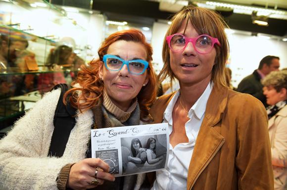 12. Emmanuelle Pittalis (Le Quand-Quand) et Axelle (Lyon People)