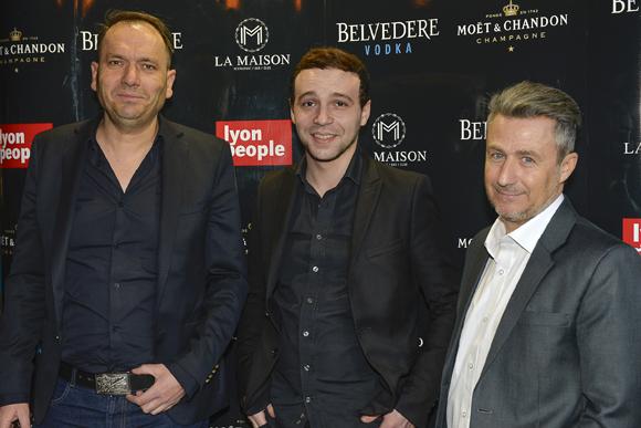 13. Pierre Chambon (àKGB), Brice Bousta (Le Petit Salon) et Thierry Lahon (àKGB)