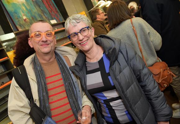 15. Pierre-Erick Guignarda (Bijouterie Valentin) et Brigitte Paschini (LM Habitat)