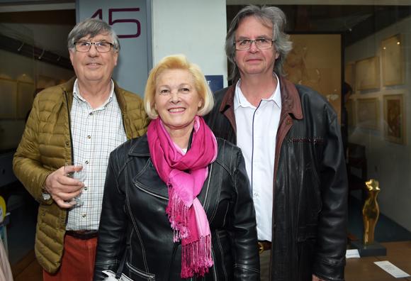 15. Bernard Soupre, Ketty Ferrand et Pierre Monnery
