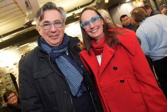 19. Francis Toussenel (Bayer) et son épouse Florence