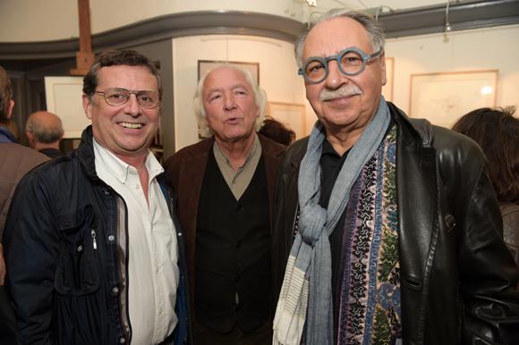 20. Eric Giraud (Chez Antonin), Jean-Marc Requien et l'architecte Albert Constantin