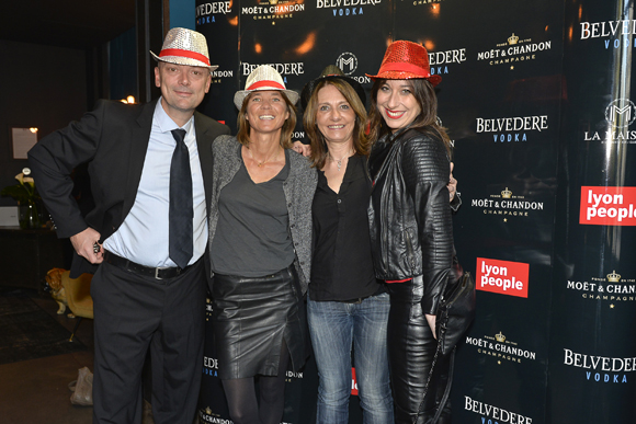 2. Jean-François Savoye (Lyon People Global), Axelle Lamiche, Valérie Thomas et Val Barr (Lyon People)