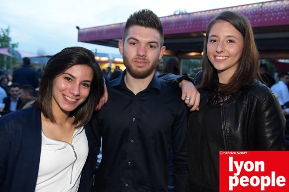24. Laurine Matéo, Matthieu Ducret (Natherm) et Cassandre Matéo