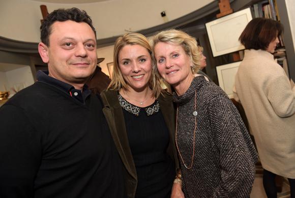 26. Mehdi Khodja (Cuisines Schmidt), son épouse Elodie (Adecco PME) et Françoise Thievon