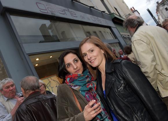 27. Sandrine Attal (Tiama) et Juliette Oosterlinck (Pro Armature)