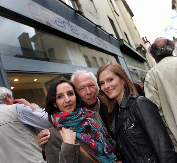 28. Sandrine Attal (Tiama), Jean-Marc Requien et Juliette Oosterlinck (Pro Armature)