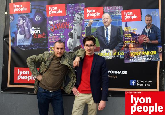 3. Nos reporters Fabrice et Baudouin (Lyon People)