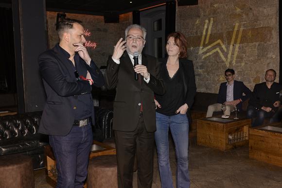 30c. Jean-Yves Sécheresse et Sandrine Frih, adjoints au maire de Lyon