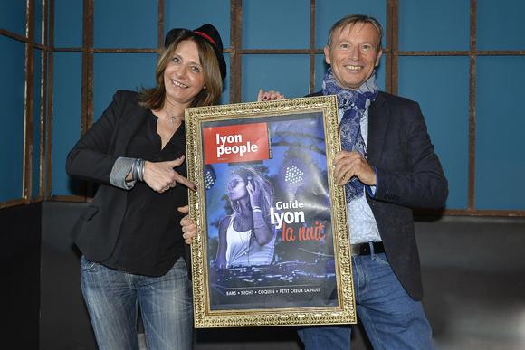 3. Valérie Thomas (Lyon People) et Patrice Auguy (Eau du Grand Lyon)