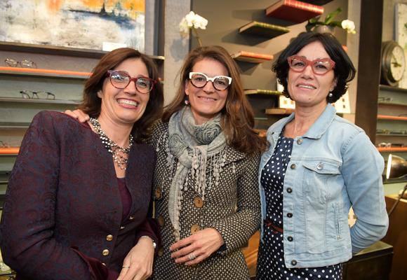 3. Catherine Gatin (Couleurs de Table), Cécile Desmurger (Orange) et Valérie Gicquel (OIP Conseil)