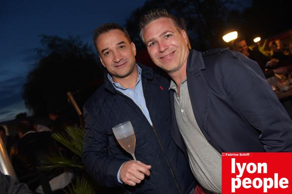 32. Sam Benguessam (IGL) et Mathias (Panasonic)