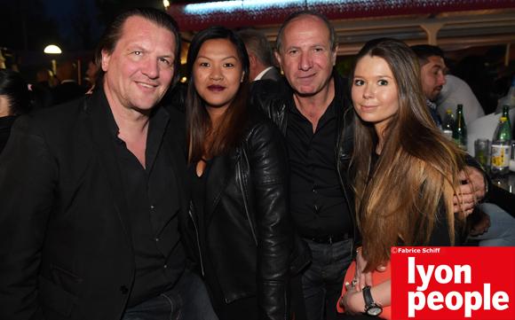 34. Vincent (Lyon Event), Gérard, Caroline (Le Boudoir) et Coline (Sound Factory)
