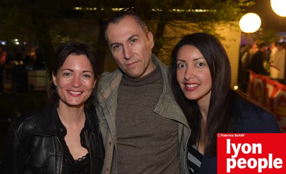 48. Caroline Impens (Métropole de Lyon), Fabrice (Lyon People) et Sarah Benkhoris (Cocon d'Eveil)