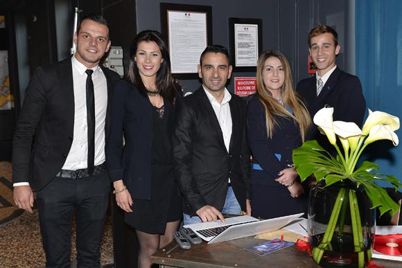 5. Arnaud Favier, Wyam Chamoun et Eric Macri (La Maison), Mickaël Trompille et Margaux Martins (Ecole Tunon)