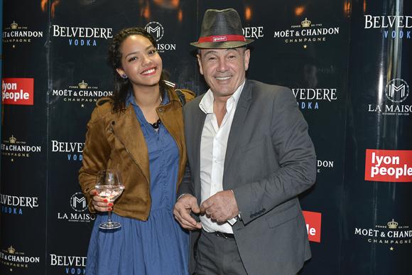 6. Fabienne Dumas (Lyon People) et Alain Dinc (La Tour Rose)