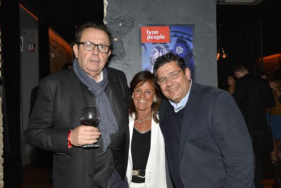 9. Philippe Vorburger (Comédie Odéon), Beryl Maillard, consul de Saint Domingue et Laurent Chabbat (Tonic Radio)