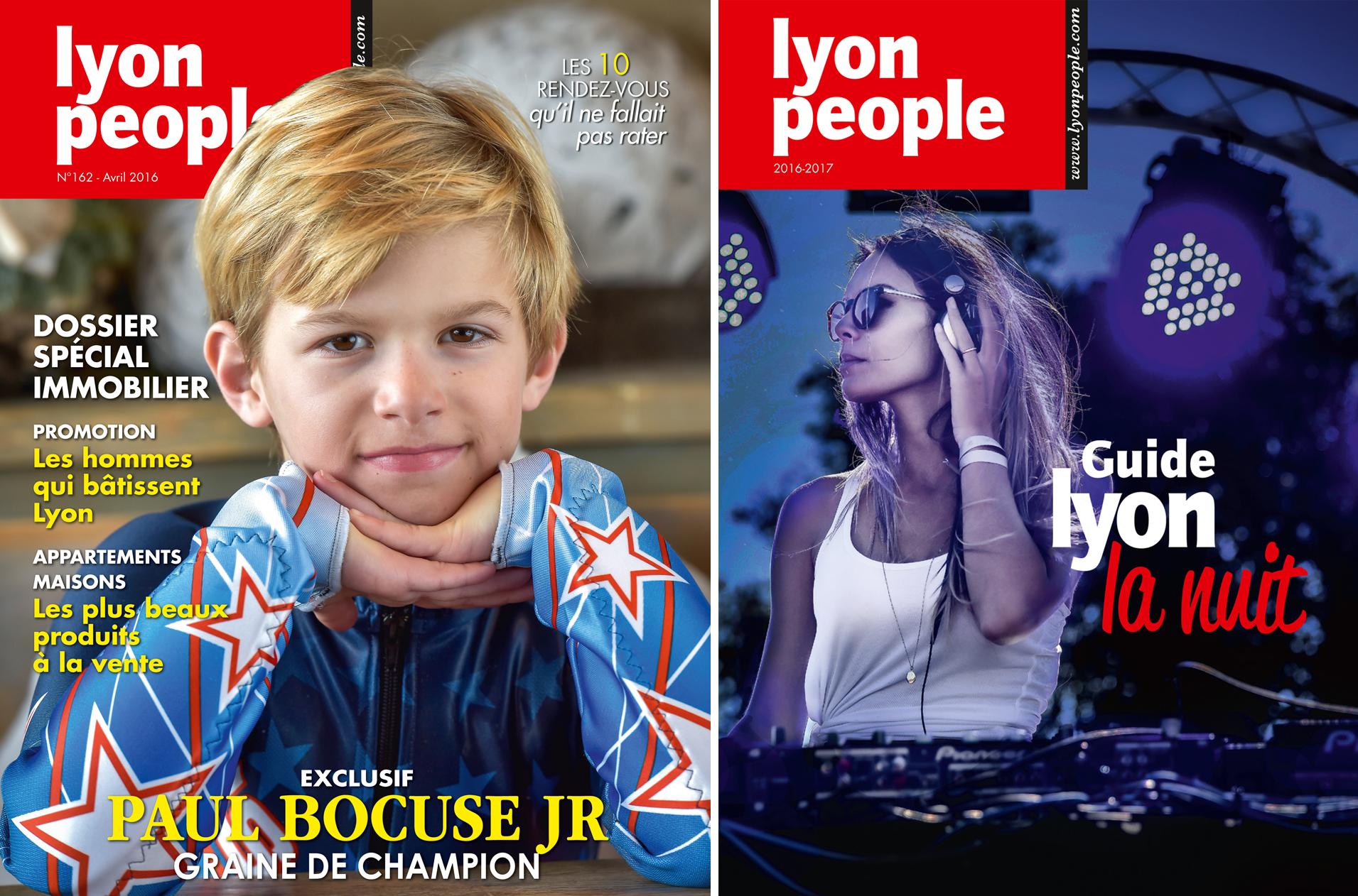Paul Bocuse Junior en couverture de Lyon People