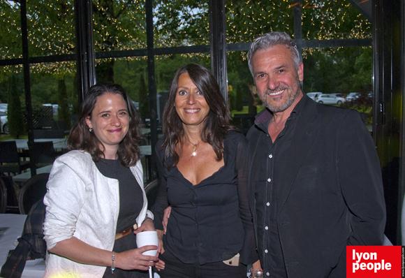 11. Angéline Altarac, Florence Guyot (Champagne Marguerite) et Roberto Luciani