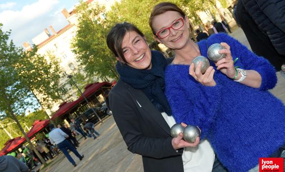 12. Isabelle-Marie Colombat (UTEI) et Rachel Carre (Ciel'Immo)