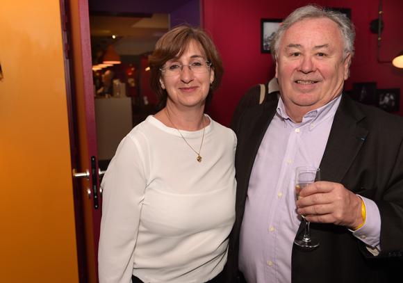 12. Rosette Maslin (Restaurant Melle Simone Kyriad) et Alain Desvignes (Conseil économique et social Rhône-Alpes)