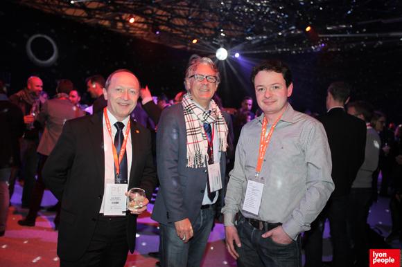 14.Noël Brunet, Président du conseil de l'ordre des Architectes, Bernard Buffard (La Sphère des possibles) et Julien Berthet (Hit Story)
