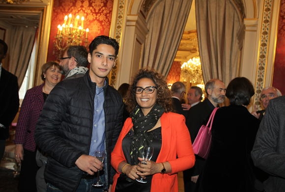 14. Abdelkader Boulanouar et Yasmina Aouini (Sanofi)
