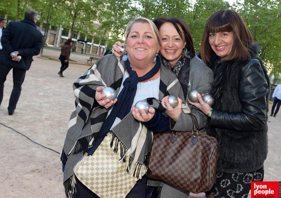 14. Audrey Mondelain, Véronique Brunel (Bama) et Nathalie Biagi (NBCD)
