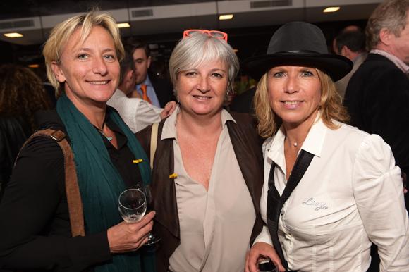 15. Sophie Soetemondt (Espace Pilote), Coryne Nicq et Anne Prost (ABC)