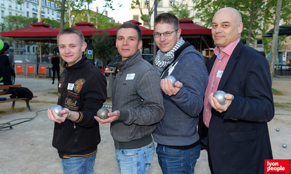 16. Damien Grégoire, Maxime Frobert, Etienne Gruau (ELTS) et Bernard Josserand (Couleur Patrimoine)