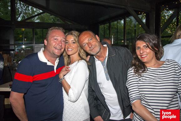 17. Benoît Toussaint (Chez Paul'O), Alysson, Olivier et Olivia