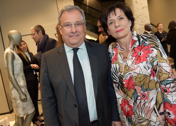 17. Emmanuel Imberton, président de la CCI de Lyon et son épouse Marie-Hélène