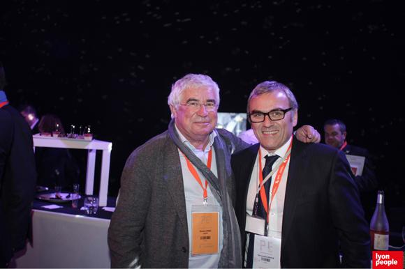 18.Christian Donzel (Visiativ) et Christophe Bouyer (ISS propreté)