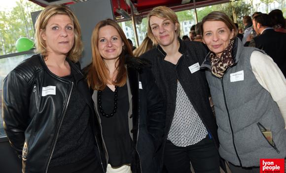18. Vinciane d'Hollander (Malsch), Lydia Cerutti (FIP), Céline Pomathiod (TGL Management) et Mireille Daud (Diam)