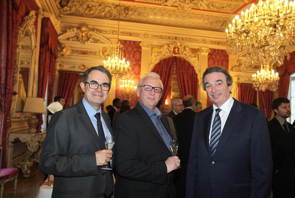 18. Philippe Masson (KBL Richelieu), Olivier Rigaud (CIC) et Gérald Rios (GR Groupe)