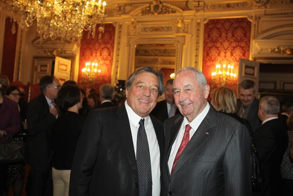 19. François Turcas (CGPME) et Jean-Paul Mauduy (CCIR)