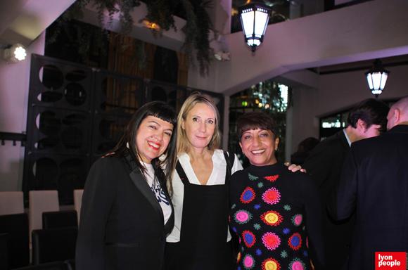 2. Laurence Renaudin, Nathalie Chaize, et Djamila Calla (C Com Calla)