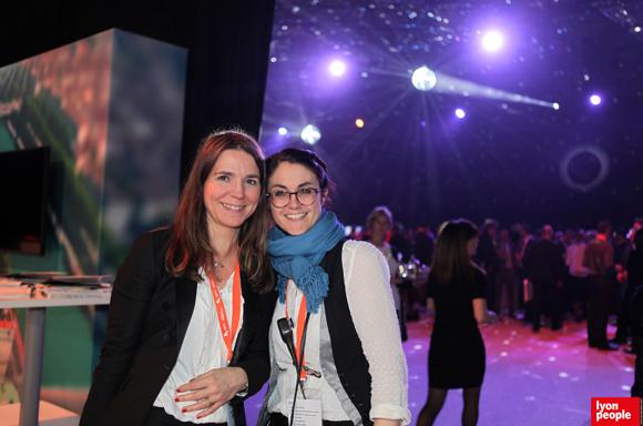 2.Valerie Escot (Banque Populaire Loire et Lyonnais) et Elodie Aguettant (MEDEF Lyon-Rhône)