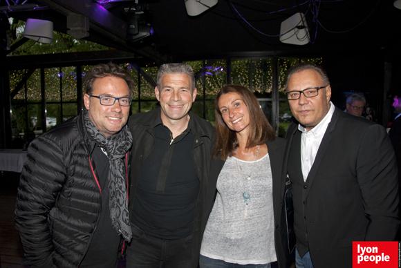 2. Pierre-Yves Gas (Proxicom), Pierre et Valérie Laigle, Philippe Jacquet (Opéra Rock)
