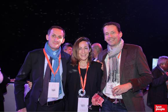 20.Bruno Verney (MEDEF Lyon-Rhône), Sylvie Madamour (Syllaprod) et Nicolas Walionis (Awitech)