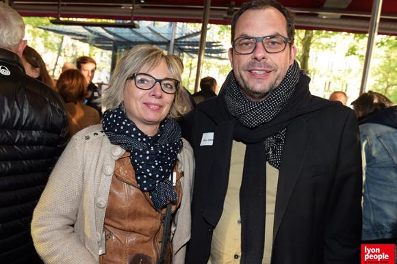 20. Florence Chapelle (LVL Médical) et Marc David (CCI Lyon)