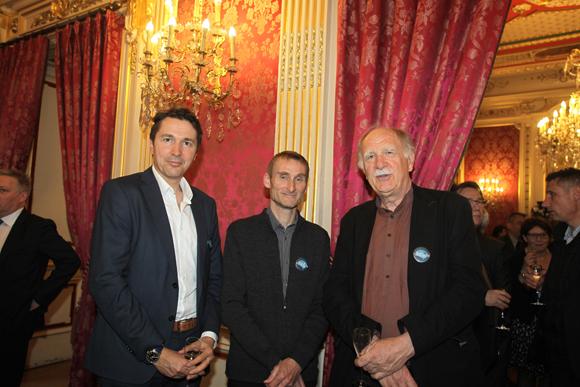 20. Le professeur Luc Zimmer (CHU de Lyon), le docteur Jean-François Ghersi-Egea, Neurobiologie (Inserm) et le professeur François Jourdan (Université de Lyon)