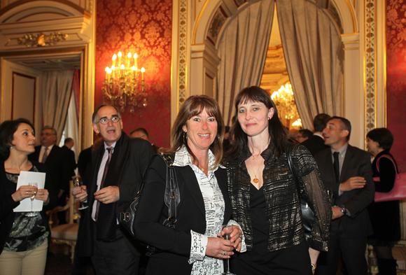 22. Christine Pella (Bleu Voyages) et Jacqueline Romestant (CIC Banque Privée)