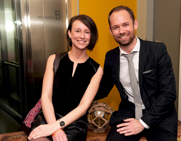 23. Emilie Olivier (Novotel de Beaune) et Christophe Brahy (Qualitourisme)