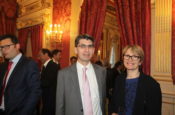 24. Marc Widenlocher (Société Générale) et son épouse Marie-Laurence