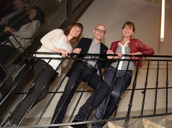 25. Charlotte Bechard, Franck Pigny et Dominique Jarrin (Louvre Hôtels Group)