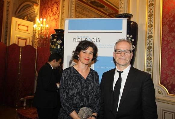 26. Thierry Frémaux (Institut Lumière) et son épouse Marie Le Gac