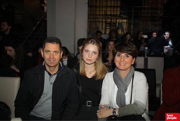 28. Brice Maisonnier (Carrier), Léa Maisonnier (Lycée La Martinière Duchère) et Cécile Maisonnier (Toshiba)