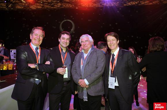 30.Denis-François Roux (Espace Numérique Entreprises), Patrick Prade (Dcfordata), Christian Donzel (Visiativ) et Stéphane Valet (Cairn Experts)